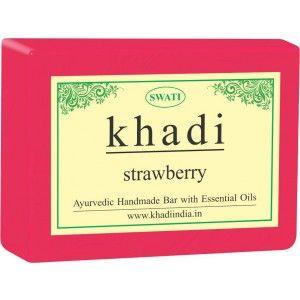 Buy Swati Khadi Strawberry Soap - Nykaa