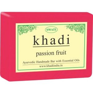 Buy Swati Khadi Passion Fruit Soap - Nykaa