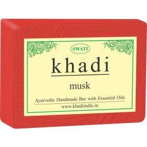 Buy Swati Khadi Musk Soap - Nykaa