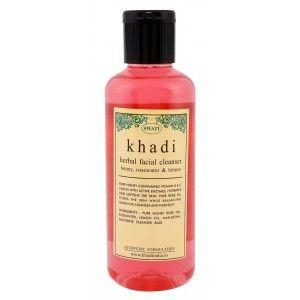 Buy Swati Khadi Herbal Honey, Rosewater And Lemon Facial Cleanser - Nykaa