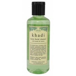 Buy Swati Khadi Neem With Neem & Lemon Facial Cleanser - Nykaa