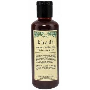 Buy Swati Khadi With Lavender & Basil Aromatic Bubble Bath - Nykaa