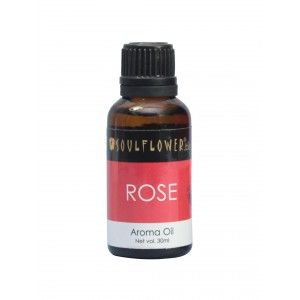 Buy Soulflower Rose Aroma Oil - Nykaa