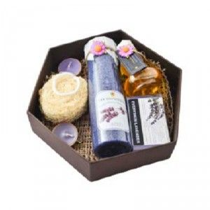 Buy Soulflower Lavender Spa Set - Nykaa