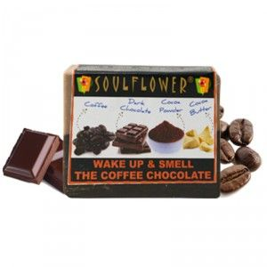 Buy Soulflower Wake Up & Smell The Coffee Chocolate Soap - Nykaa