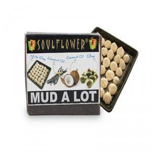 Buy Soulflower Mud A Lot Soap - Nykaa