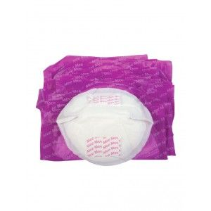 Buy Mee Mee Premium Disposable Maternity Breast Pads - White (24 Pcs)  - Nykaa