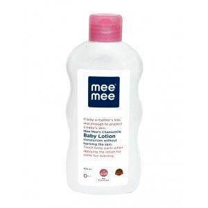 Buy Mee Mee Chamomile Baby Lotion - White - Nykaa