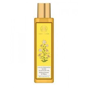 Buy Forest Essentials Cold Pressed Body Massage Oil - Madurai Jasmine & Mogra - Nykaa
