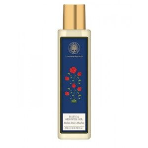 Buy Forest Essentials Moisture Replenishing Bath & Shower Oil - Indian Rose Absolute - Nykaa