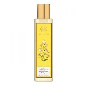 Buy Forest Essentials Moisture Replenishing Bath & Shower Oil - Madurai Jasmine & Mogra - Nykaa