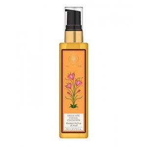 Buy Forest Essentials Delicate Facial Cleanser Kashmiri Saffron & Neem - Nykaa
