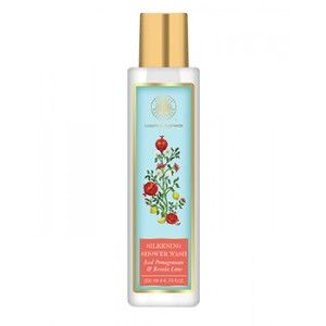 Buy Forest Essentials Silkening Shower Wash Iced Pomegranate With Fresh Kerala Lime - Nykaa