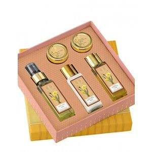 Buy Forest Essentials Fragrant Bath Care Gift Box - Nykaa