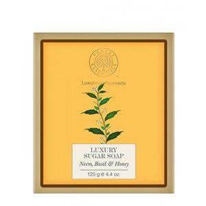 Buy Forest Essentials Luxury Sugar Soap Neem Basil & Honey - Nykaa