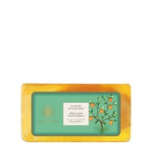 Buy Forest Essentials Luxury Sugar Soap Whole Loofah Scrub Lemongrass - Nykaa