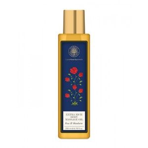 Buy Forest Essentials Extra Rich Almond Body Massage Oil - Rose & Mandarin - Nykaa