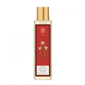 Buy Forest Essentials Moisture Replenishing Bath & Shower Oil - Mashobra Honey & Vanilla - Nykaa