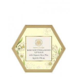 Buy Forest Essentials Luscious Lip Balm - Kokum Butter & Honey - Nykaa