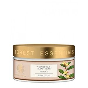 Buy Forest Essentials Velvet Silk Body Cream Vitamin E - Nykaa