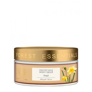 Buy Forest Essentials Velvet Silk Body Cream Nargis - Nykaa
