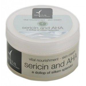 Buy Natural Bath & Body Vital Nourishment Skin Cream - Sericin & AHA - Nykaa