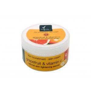 Buy Natural Bath & Body Grapefruit Vitamin C Vital Nourishment Cream - Nykaa