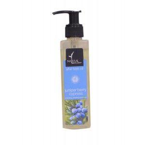 Buy Natural Bath & Body Juniper Berry & Cypress After Bath Oil - Nykaa