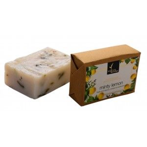 Buy Natural Bath & Body Minty Lemon Bathing Bar - Nykaa