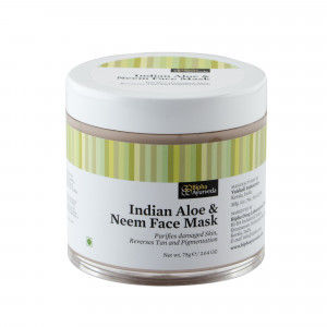 Buy Herbal Bipha Ayurveda Indian Aloe & Neem Face Mask - Nykaa