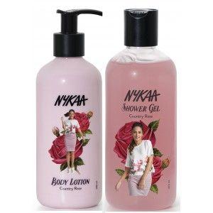 Buy Nykaa Country Rose Combo - Body Lotion & Shower Gel - Nykaa