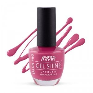 Buy Nykaa Salon Shine Gel Nail Lacquer - Nykaa