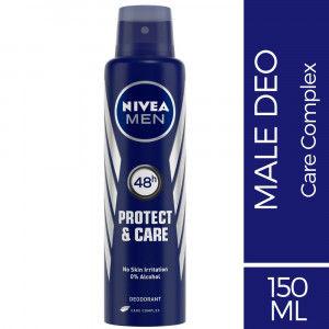 Buy Nivea Men Deodorant Protect & Care Anti - Perspirant Deodorant  - Nykaa