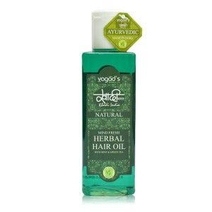 Buy Vagad's Khadi Mind-Fresh Herbal Hair Oil - Nykaa
