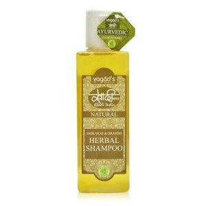 Buy Vagad's Khadi Shikakai & Brahmi Herbal Shampoo - Nykaa