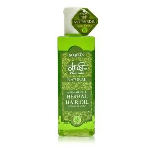 Buy Vagad's Khadi Anti-Hairfall Herbal Hair Oil - Nykaa
