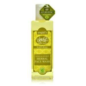 Buy Vagad's Khadi Lemon & Licorice Herbal Face Wash - Nykaa