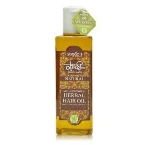 Buy Vagad's Khadi Maha Bhringraj Herbal Hair Oil - Nykaa