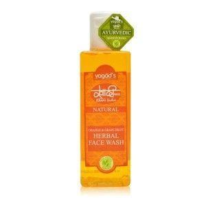 Buy Vagad's Khadi Orange & Grapefruit Herbal Face Wash - Nykaa