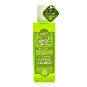 Buy Vagad's Khadi Tulsi & Heena Herbal Shampoo - Nykaa
