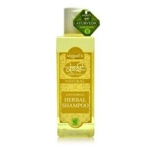 Buy Vagad's Khadi Anti-Hairfall Herbal Shampoo - Nykaa