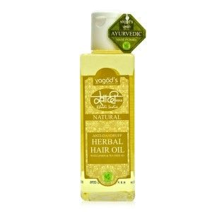 Buy Vagad's Khadi Anti-Dandruff Herbal Hair Oil - Nykaa
