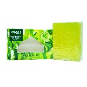 Buy Vagad's Khadi Neem & Basil Handmade Soap - Nykaa
