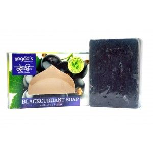 Buy Vagad's Khadi Blackcurrant Handmade Soap - Nykaa