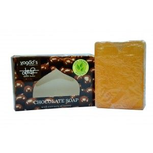 Buy Vagad's Khadi Chocolate & Honey Handmade Soap - Nykaa