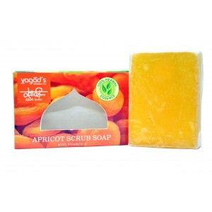 Buy Vagad's Khadi Peach & Apricot with walnut scrub Handmade Soap - Nykaa