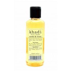 Buy Khadi Sandal & Honey Shampoo - Nykaa