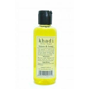 Buy Khadi Lemon & Honey Shampoo - Nykaa