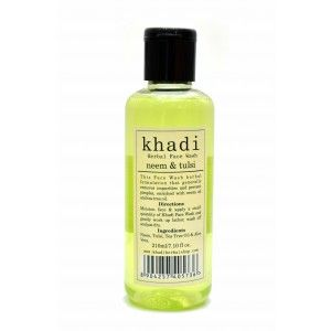 Buy Khadi Neem & Tulsi Face Wash - Nykaa