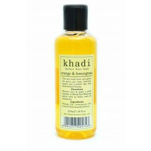 Buy Khadi Orange & Lemongrass Wash - Nykaa